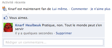 Facebook - No comment...